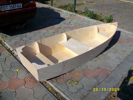 Разборная лодки своими руками
